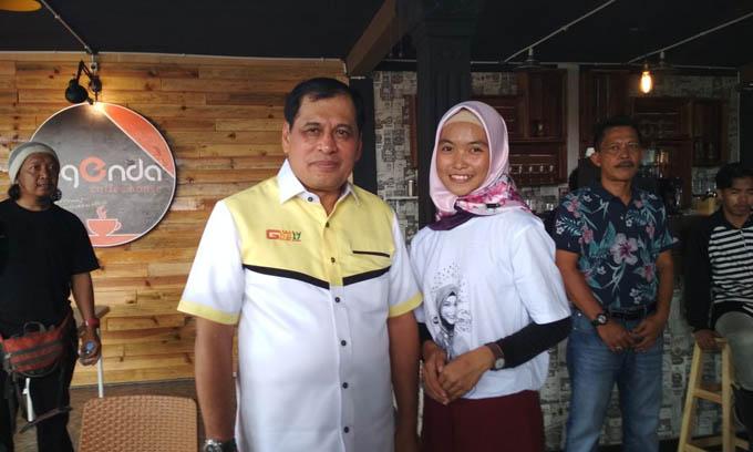 Berkunjung di Legenda, NH Siap Dukung Tiara di Lida Indosiar