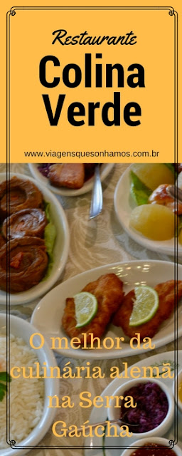 Culinária Alemã na Serra gaúcha