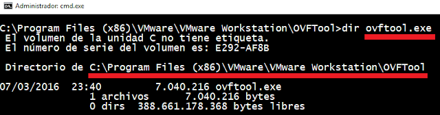 VMware: ESXi mover maquina virtual con ovftool