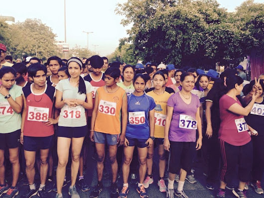 Some Clicks from Yamuna Marathon 2015 | Yamuna Marathon Club