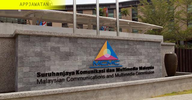 Jawatan Kosong di Suruhanjaya Komunikasi dan Multimedia Malaysia (MCMC)