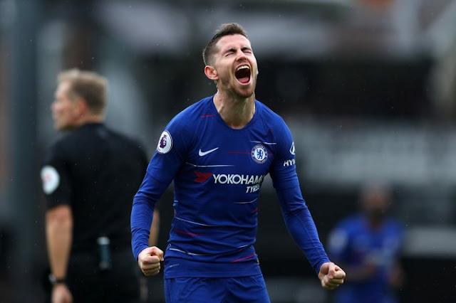 Chelsea FC Jorginho Vs Fulham