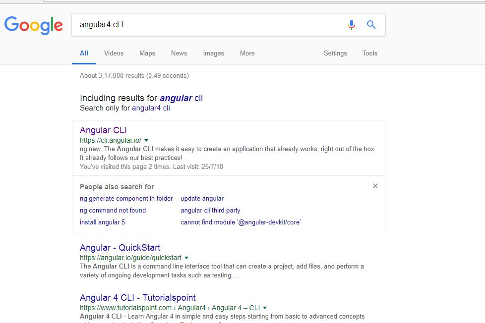 install angular for windows 7