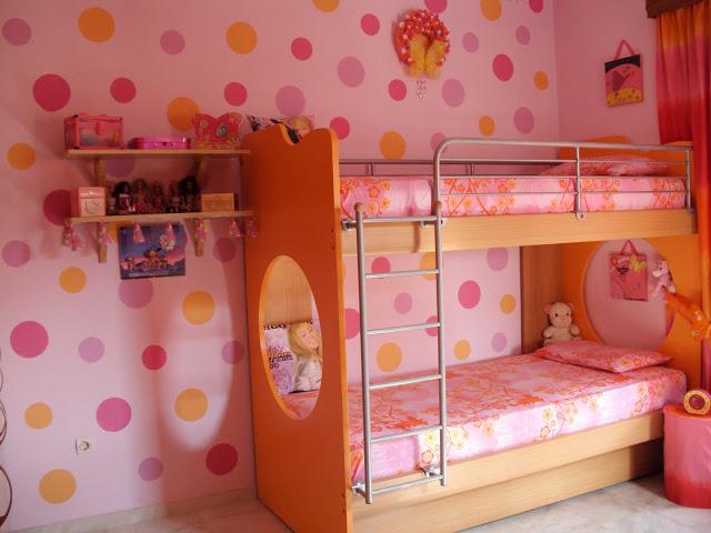 Οδηγίες για να βάψεις κύκλους τον τοίχο του παιδικού δωματίου και όχι μόνο.