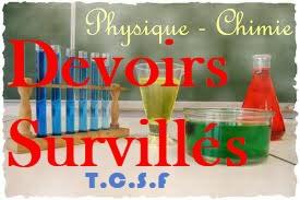 Devoir Surveillé physiques tronc commun bac international option français