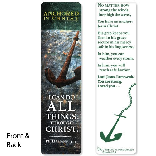 Petersham Bible Book & Tract Depot: Anchored in Christ Pen