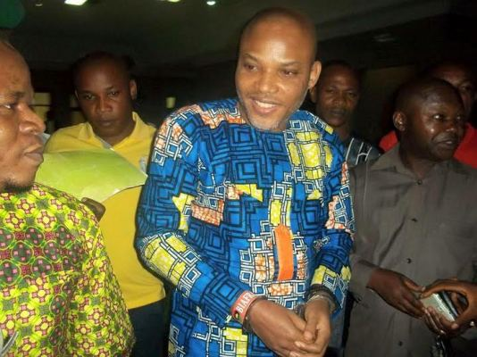 IPOB leader,Nnamdi Kanu arraigned in court today