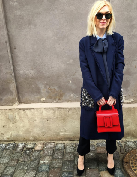 Mini Bag in Red  | Josephine Aarkrogh Fashion Director ELLE DK
