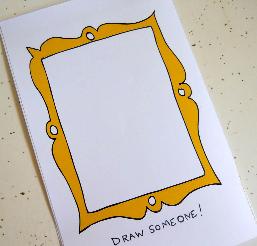 How to make drawing book