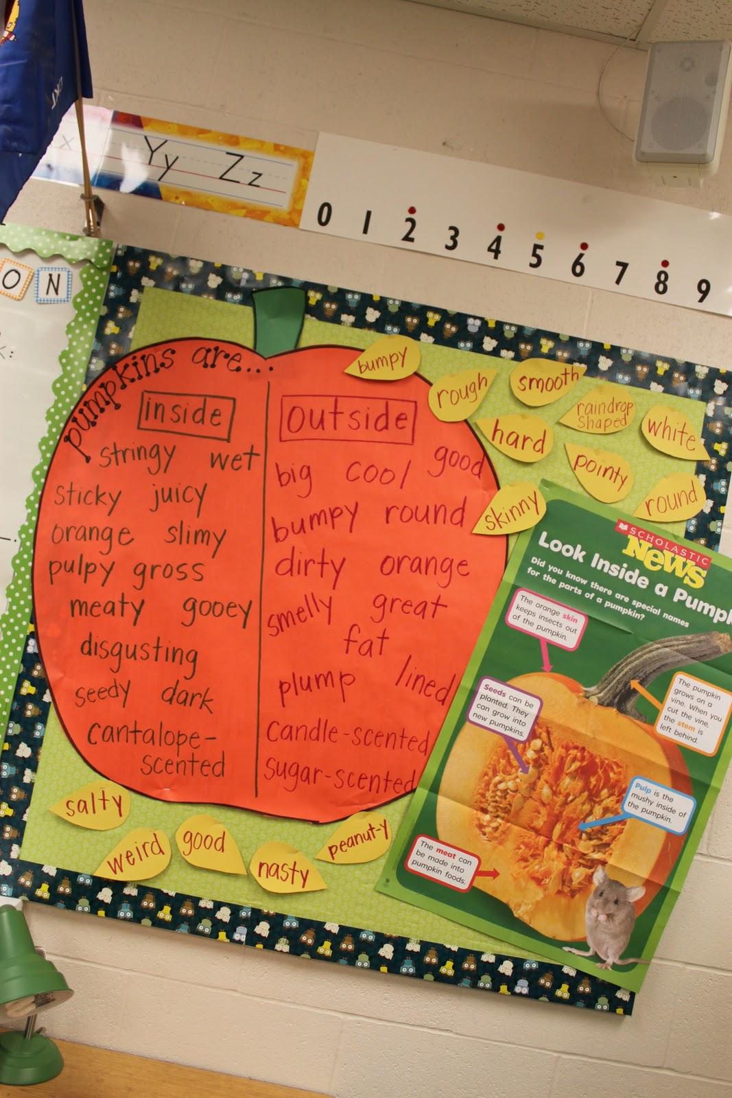 Simply Second Grade Pumpkins