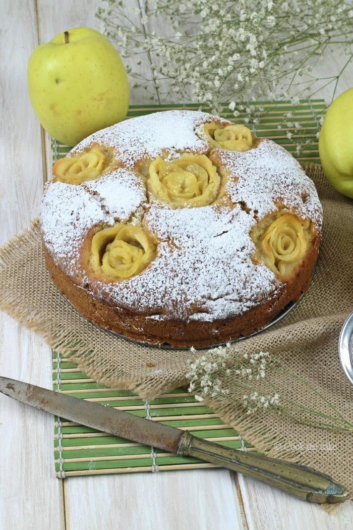 bizcocho-de-manzana, nueces