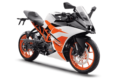 2017 version KTM RC 200 hd image