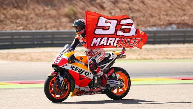 Marquez Menatap Rekor Mick Doohan di MotoGP Jepang