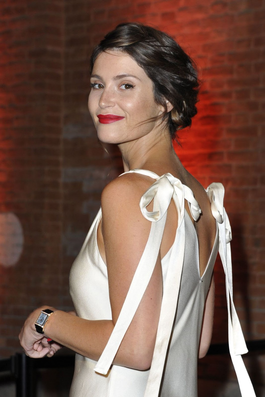 Full HD Photos of Gemma Arterton At Jaeger Couture Gala Dinner Venice Film Festival in Venice