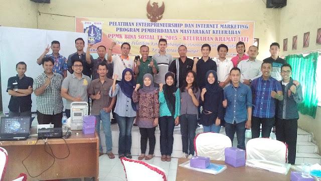Pelatihan Wirausaha dan Internet marketing Kelurahan Kramat Jati