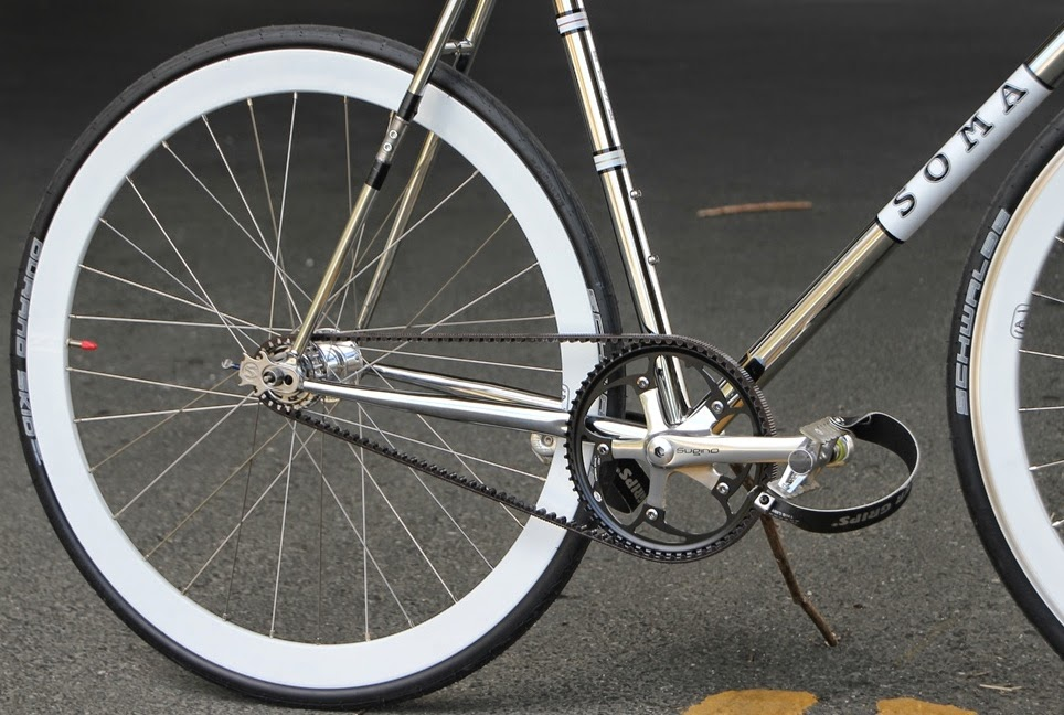 The Monkey Lab Soma Rush Fixed Gear With Belt Drive
