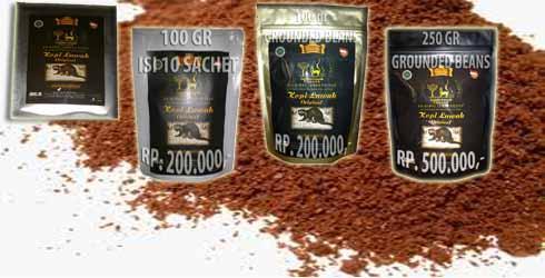 gambar kemasan kopi luwak sachet arabika 2016
