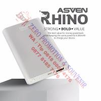 Souvenir Powerbank P80AL14 - RHINO