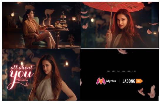 Myntra launches campaign to promote the new Autumn-Winter collection of Deepika Padukone's 'All about you'!