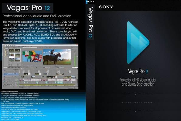Keygeyn Для Sony Vegas 12 Pro