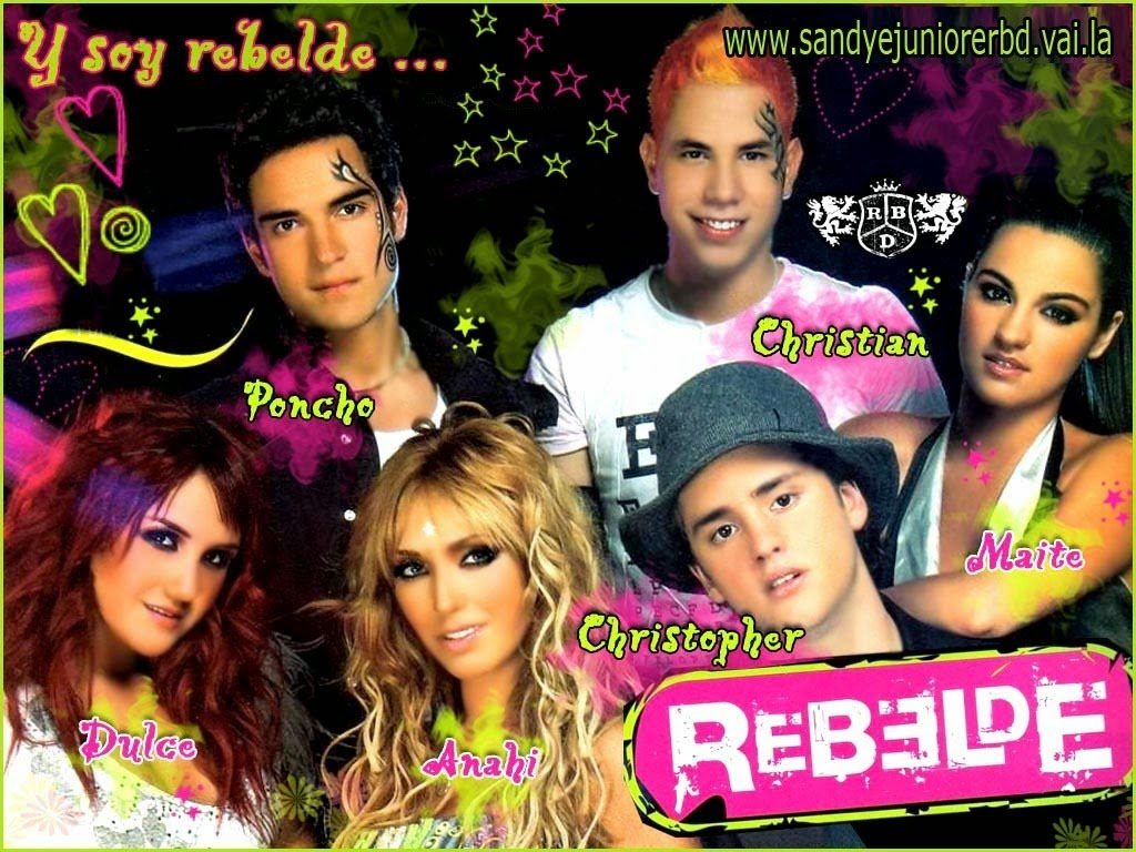 todas as temporadas de rebelde mexicano dublado