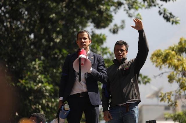 LATINOAMÉRICA: Juan Guaidó se reunió con Leopoldo López en embajada de España en Caracas.