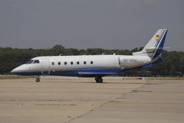Uno de los aviones que ha vendido Telefónica