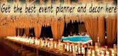 Catch the best event planner and decor here !
