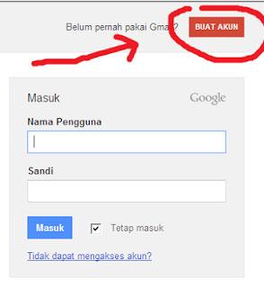 daftar email baru indonesia