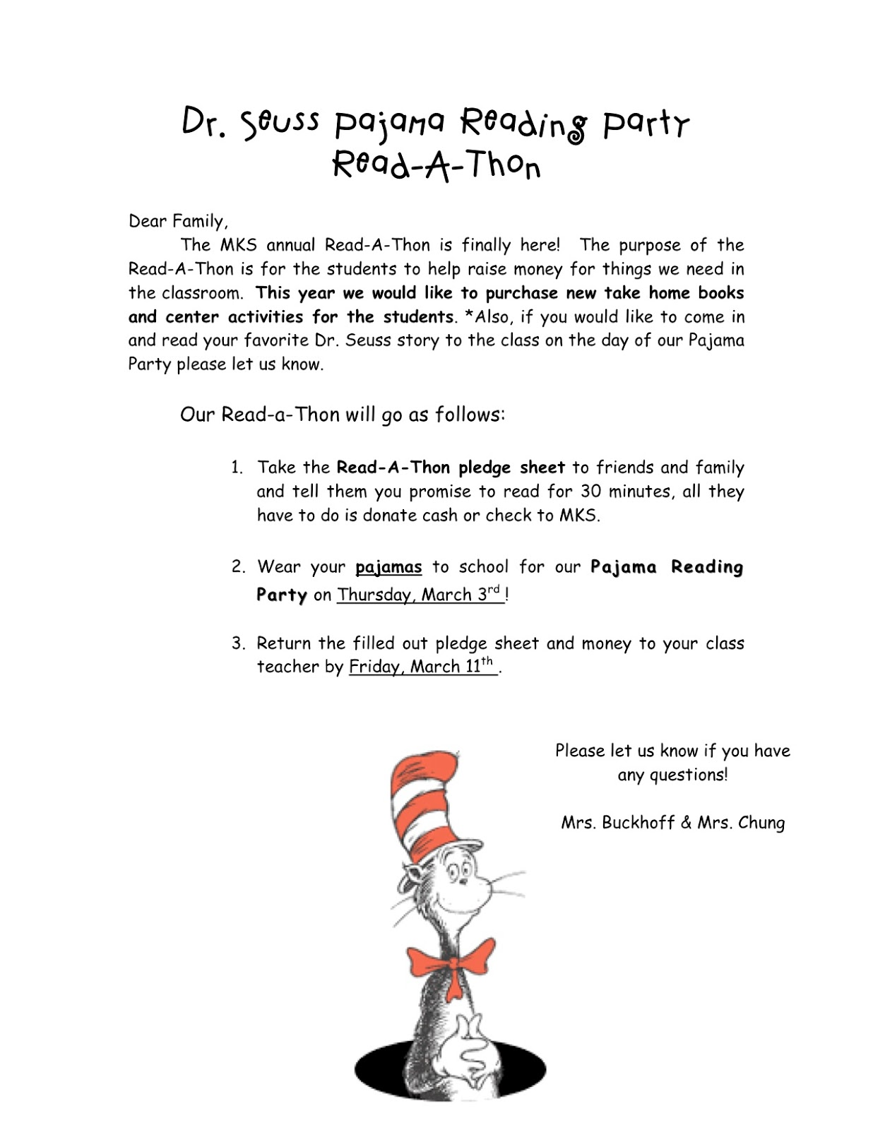 Kinder Learning Garden Happy Birthday Dr Seuss