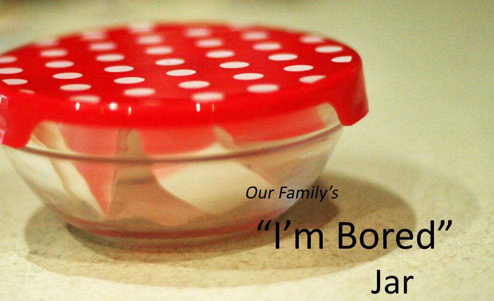 I M Bored Jar: Polkadot Lane: Bored? Are You Sure? (Mwahahaha