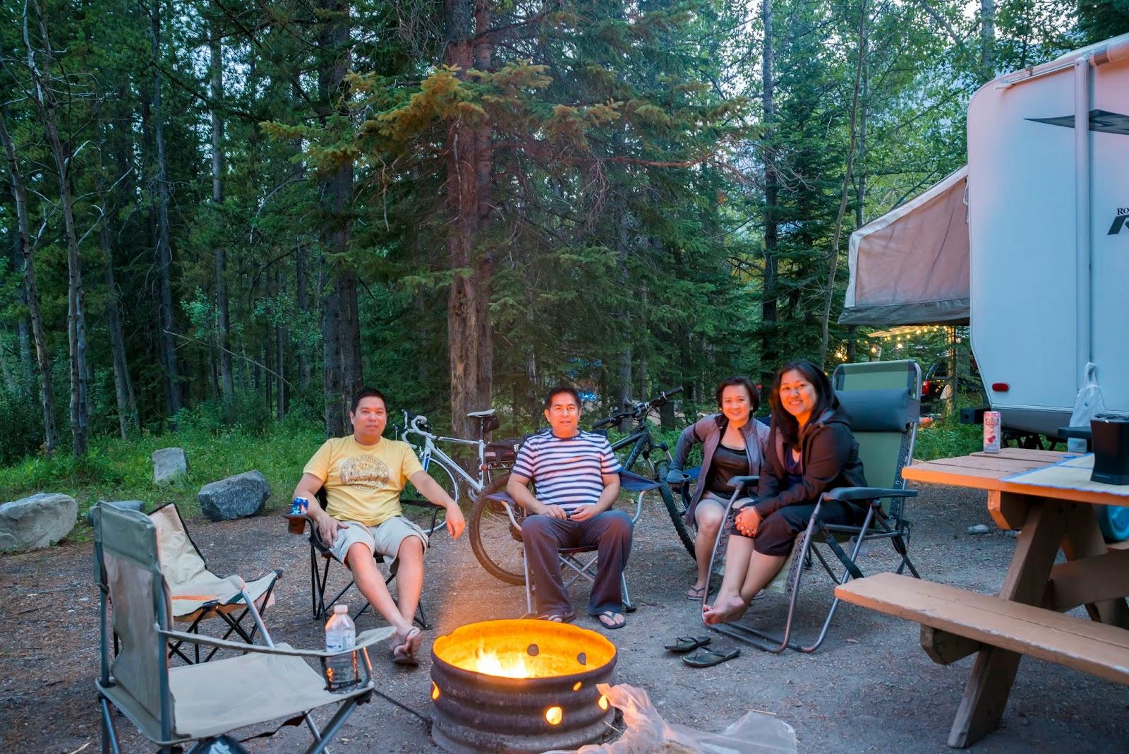 My Inner Sense Weekend Camping At Mt Kidd Kananaskis