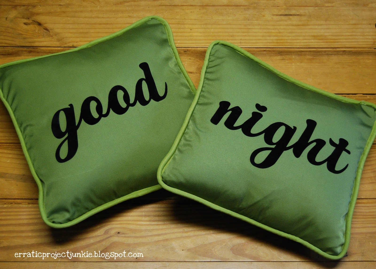 Erratic Project Junkie: G is for Good Night