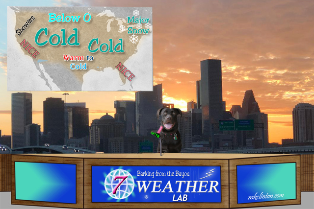 Weather forecast from Paisley the weather lab in Houston