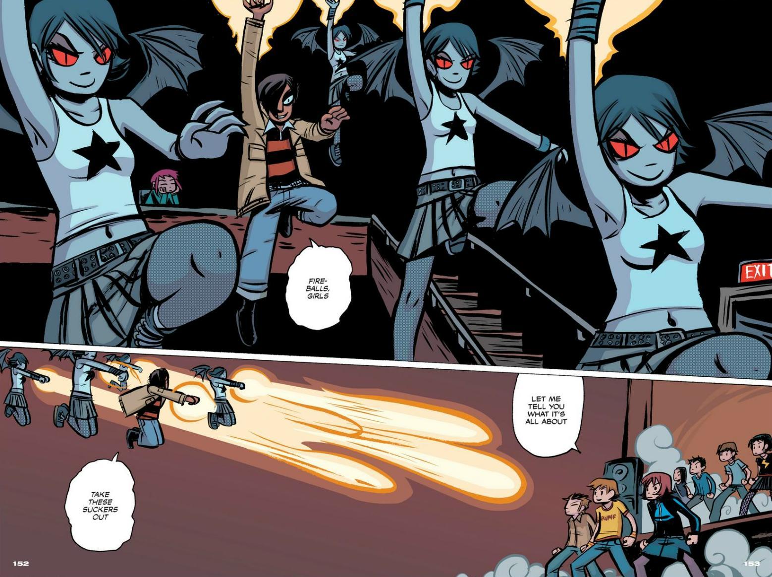 Read online Scott Pilgrim comic -  Issue #1 - 138