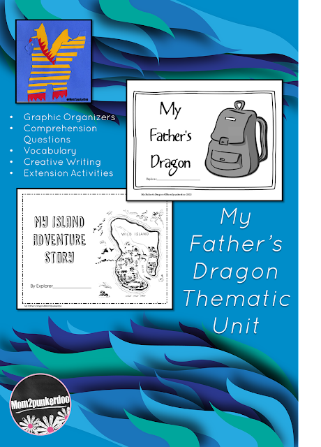 My Father's Dragon literature ideas! Your students will love becoming explorers themselves as they get caught up the adventures of Elmer Elevator with this thematic literature unit. Includes literacy activities, vocabulary, writing, and more!