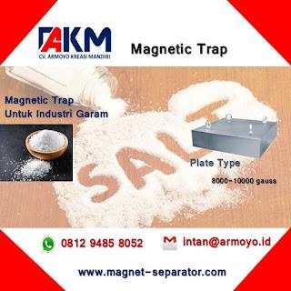 Magnetic Trap Plat Untuk Industri Garam