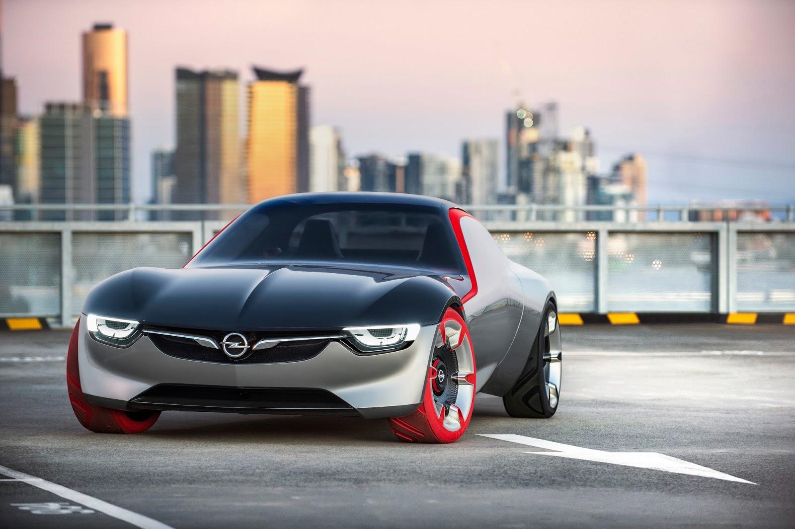 Opel GT Concept 298968 Αυτό είναι το νέο Opel GT Concept