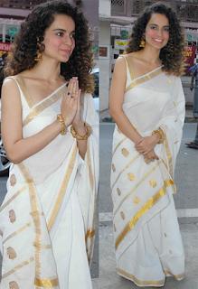 Bollywood-actress-kasavu-saree