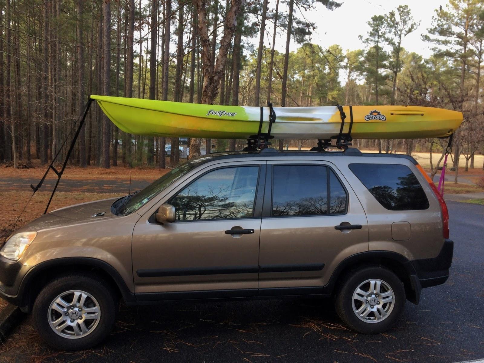 Of Yak Bondage Strapping Down Your Kayak