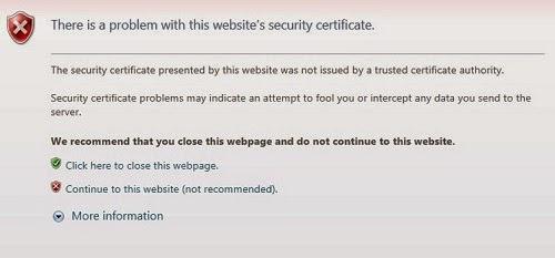 Hiro Mia: How to handle SSL certificate error in Selenium
