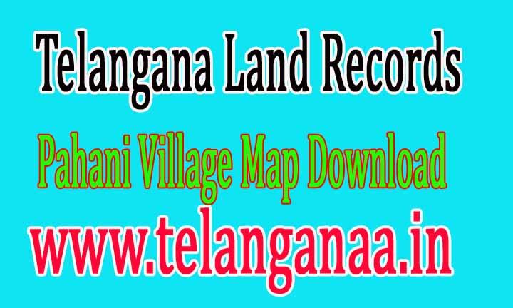 Telangana TS State Land Records Village Map Download Online