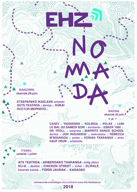 Festival EHZ NOMADA 2018