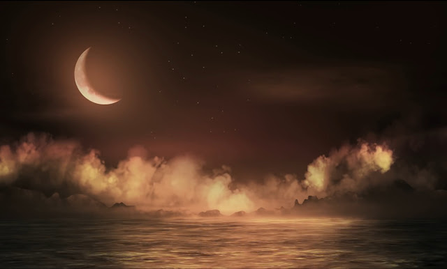 Loop Moonlit Sea Wallpaper Engine