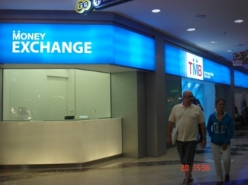 Tmb Bank Money Changer At Mbk Centre Bangkok
