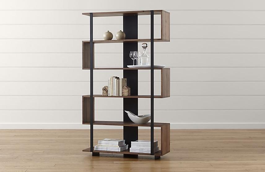 Pembatas ruang dengan desain rak, Ide pembatas ruang rumah minimalis