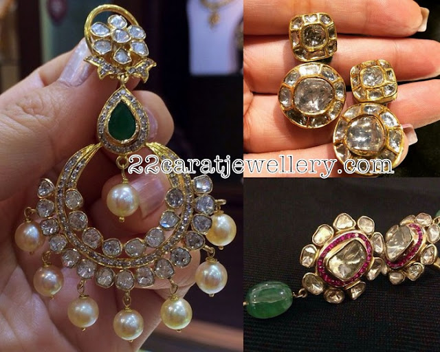 Pachi Chandbalis and Earrings