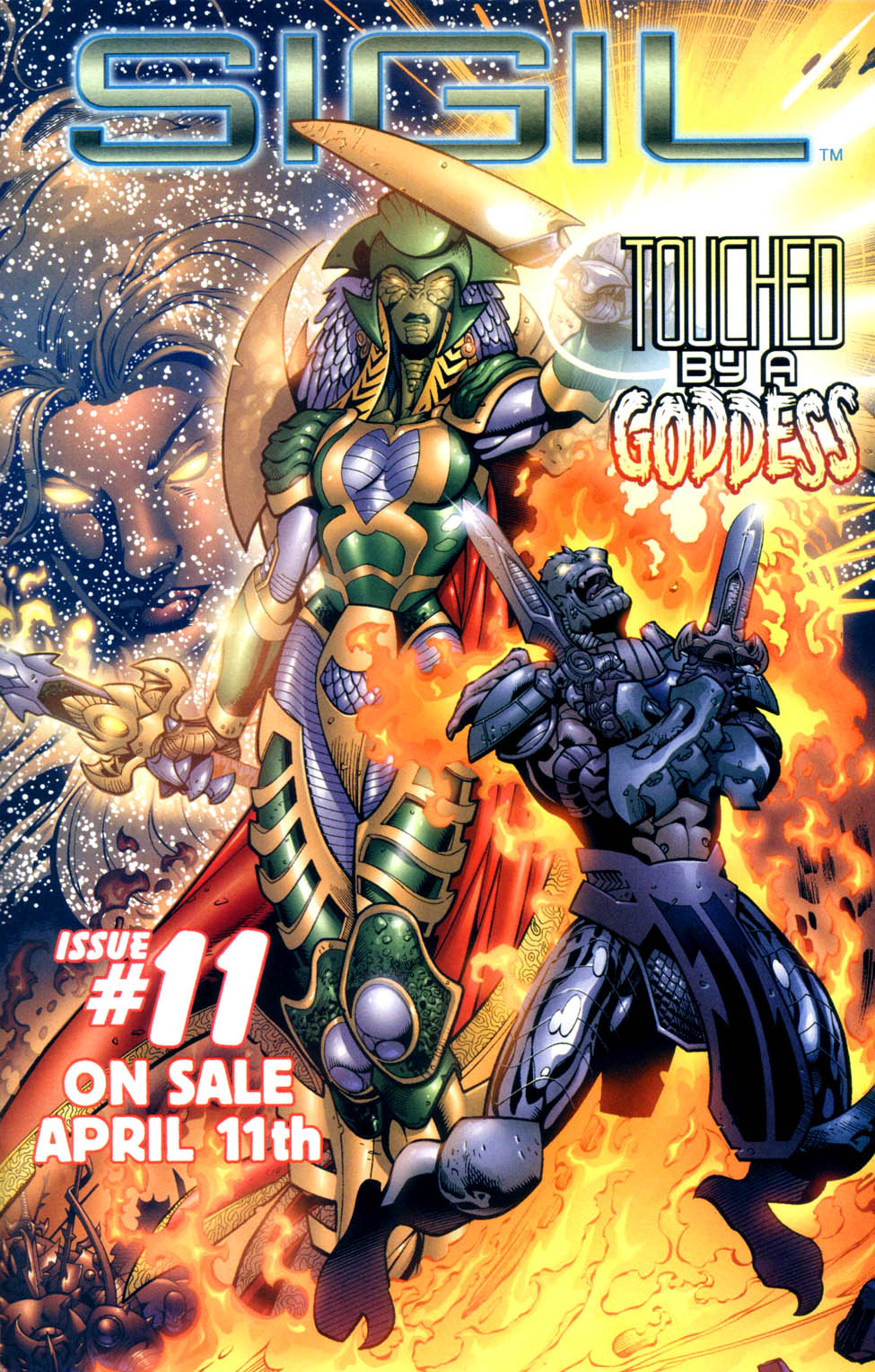 Read online Sigil (2000) comic -  Issue #10 - 24