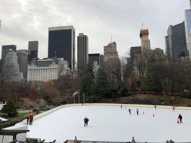 Pista de hielo de Central Park. Nueva York con adolescentes | turistacompulsiva.com