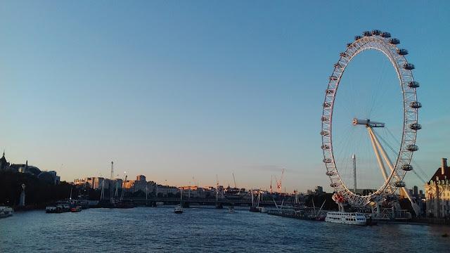Ballade photographique au London Eye : la grande roue de Londres